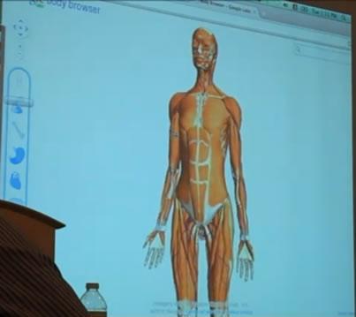 GoogleBody1 Google Telanjangi Tubuh Manusia