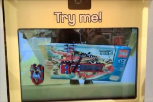 Augmented Reality Lego Kiosk