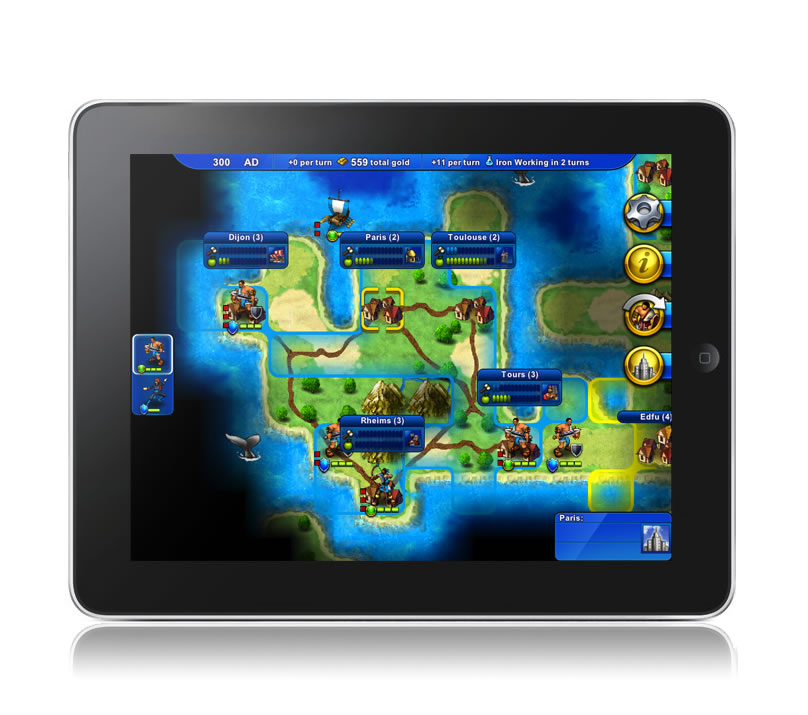 Civilization Revolution ipad