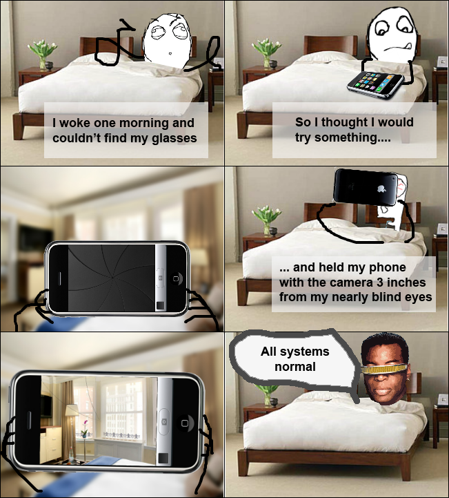 iphone as glasses