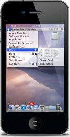 OS Lion iphone
