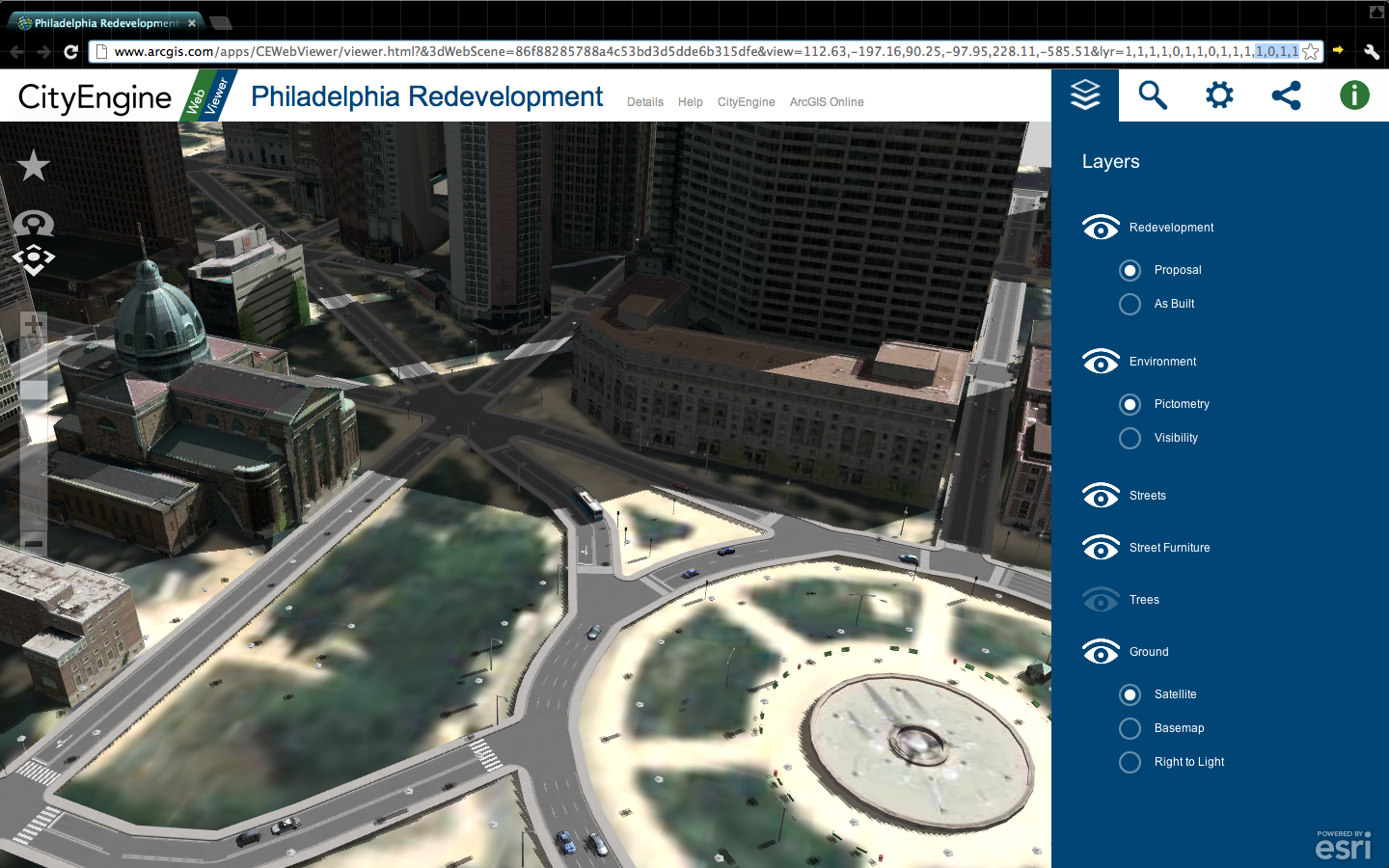 CityEngine Web Viewer