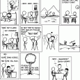 I'm not going to go into the history here, you can figure it out.  I had a few close people go though cancer.  Its not fun, but when you beat it, its big.  Best wishing XKCD(er). Permanent link to this comic: http://xkcd.com/1141/ Image URL (for hotlinking/embedding): http://imgs.xkcd.com/comics/two_years.png