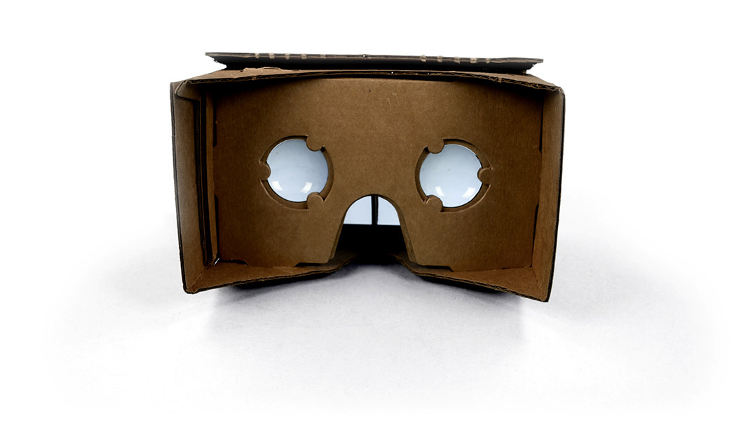 google Cardboard VR glasses front
